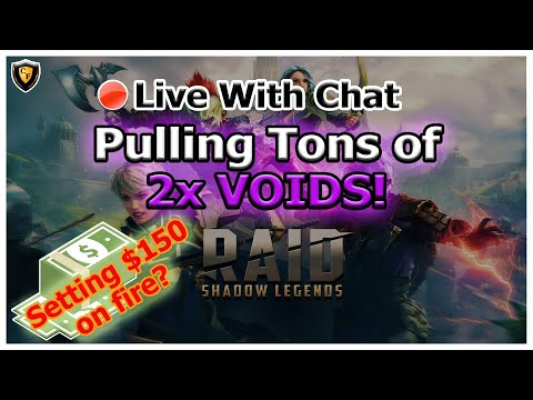 RAID Shadow Legends | Tons of 2x VOIDS | Live With Chat + Affinity Cup