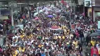 Milhares de pessoas expressam sua fé na Marcha Para Jesus de São Bernardo