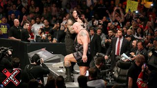 PPV Moment - Roman Reigns spear Big Show on a table (Extreme Rules 2015)
