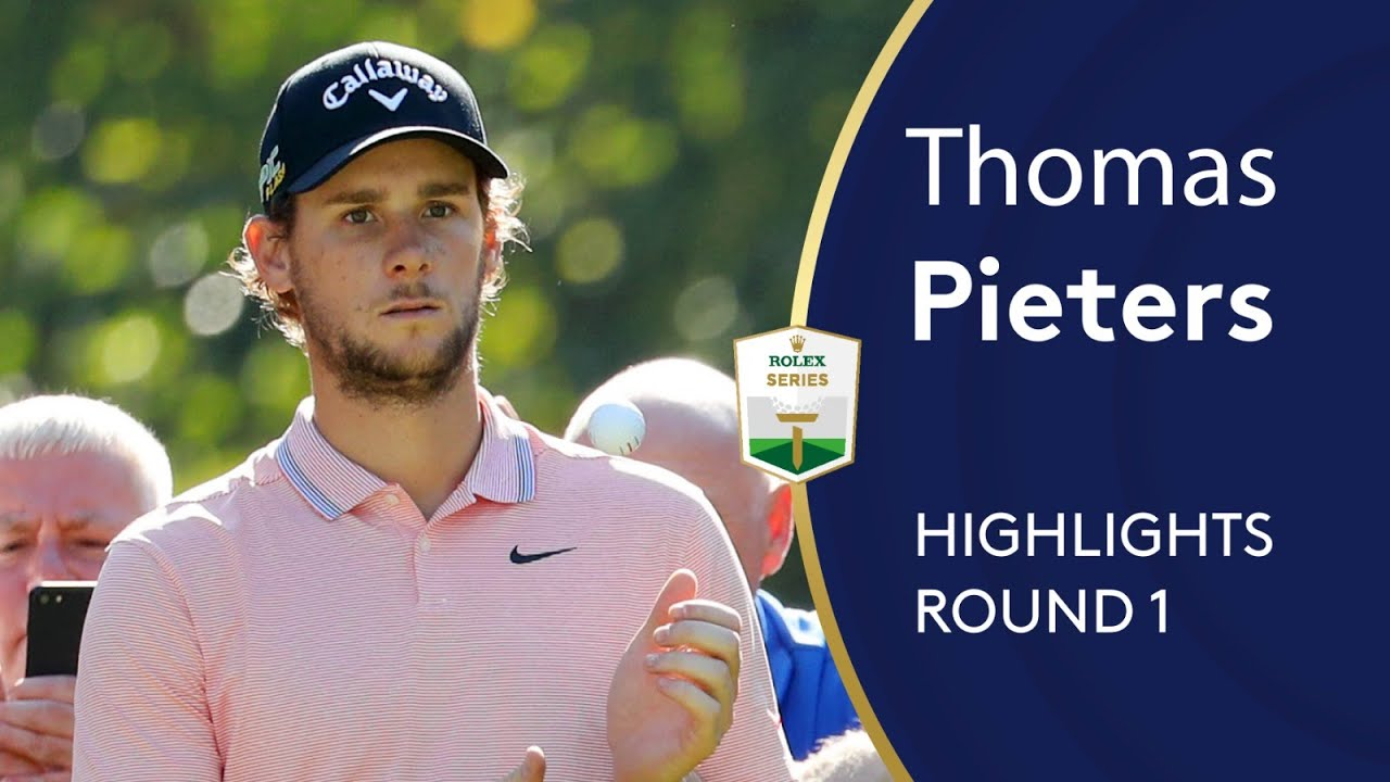 Thomas Pieters Highlights | Round 1 | 2019 Turkish Airlines Open