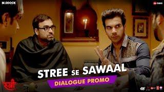 Stree Se Sawaal | STREE | Rajkummar Rao, Shraddha Kapoor, Dinesh Vijan, Raj&DK, Amar Kaushik | Aug31