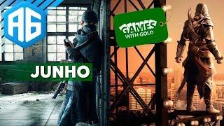GAMES WITH GOLD JUNHO 2017 - JOGOS DE GRAÇA NO XBOX ONE E XBOX 360 (Português-BR) O MELHOR MÊS!