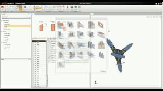 Code check of steel truss joint from Tekla Structures