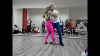 "Maxim & Anastasia - ""Make you feel"" zouk demo in Novosibirsk"