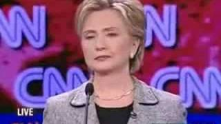 Hillary Clinton FARTS ON LIVE T.V! (Democratic Debate)