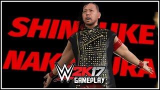 WWE 2K17 - Shinsuke Nakamura Entrance & Winning Animation! (WWE 2K17 NXT DLC Gameplay) [PS4/XB1]