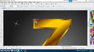Học Corel Vẽ logo 3D bằng Corel Học Thiết kế đồ họa