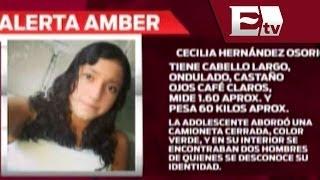 Encienden Alerta Amber por Cecilia Hernández Osorio  / Paola Virrueta