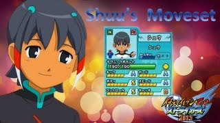 Shuu's Move-Set in Inazuma Eleven Go Strikers 2013