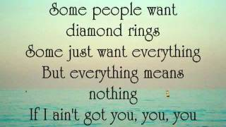 Alicia Keys - If I Ain't Got You Lyrics - YouTube.flv