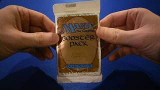 BETA Booster Pack Opening MTG