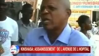 KINSHASA: Assainissement de la ville de Kinshasa , la police fait un nettoyage musclé