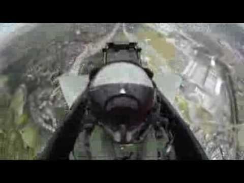 Unique cockpit footage
