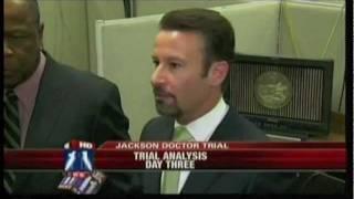 Los Angeles Criminal Defense Attorney R.J. Manuelian Discussing Michael Jackson Dr. Trial