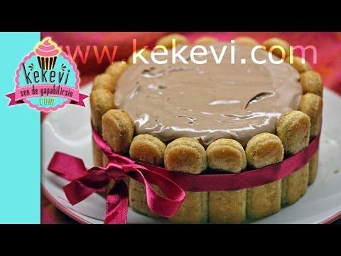 Fındık Kremalı Kahveli Kedidili Pasta