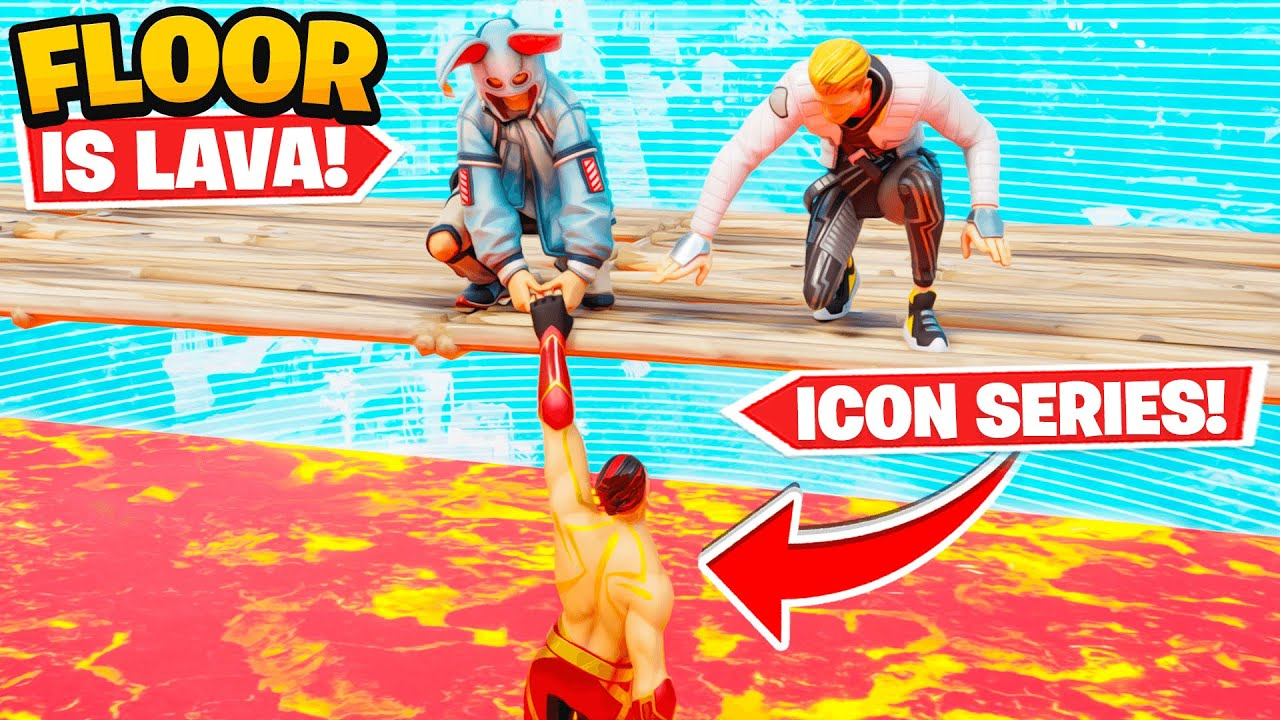 x2Twins - WE WON THE NEW *ICON SERIES* SKIN (Floor is Lava)