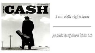 Johnny Cash - Hurt ║ Lyrics & Traduction en Français