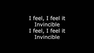 Skillet - Feel Invincible (Lyrics HD)
