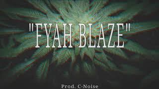 """""""Fyah Blaze"""" Reggae Rap Beat   Instrumental Hip Hop Reggae"""