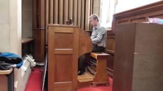 Help us, O Lord, to learn - Putney Vale Crematorium, London (Compton organ)
