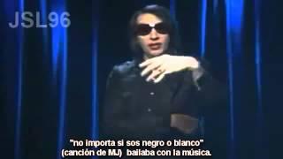 Marilyn Manson hablando de Michael Jackson. (subtitulos español)