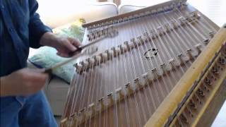 Vivaldi's Winter Largo from the Four Seasons, on hammered dulcimer by Timothy Seaman