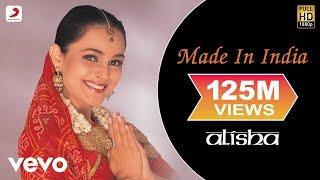 Alisha Chinai - Made In India Video width=