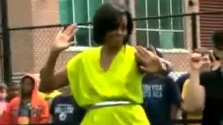 THE OBAMA'S DANCING TO CALYPSO