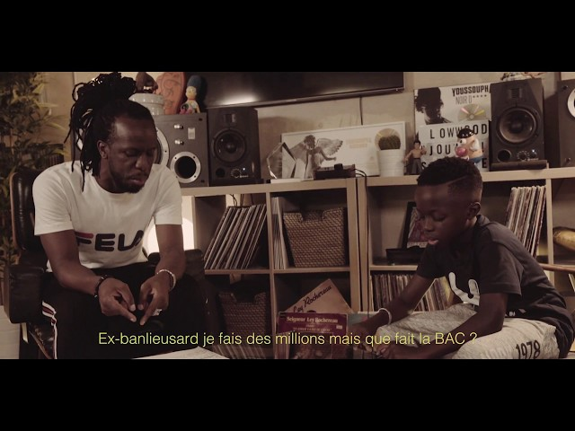 YOUSSOUPHA FREESTYLE WITH HIS SON!