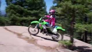 Rampart Range, beginners ride