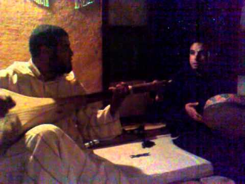 Traditional Moroccan Music in Nkob Berber Village Morocco