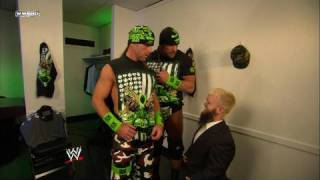 Hornswoggle confronts DX