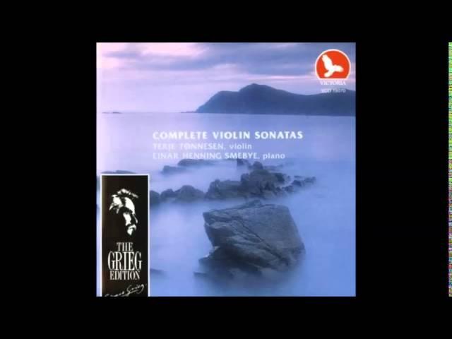 Vídeo de las sonatas para violín de Edvard Grieg.