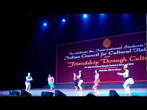 Nepal performaned traditional dance 2012