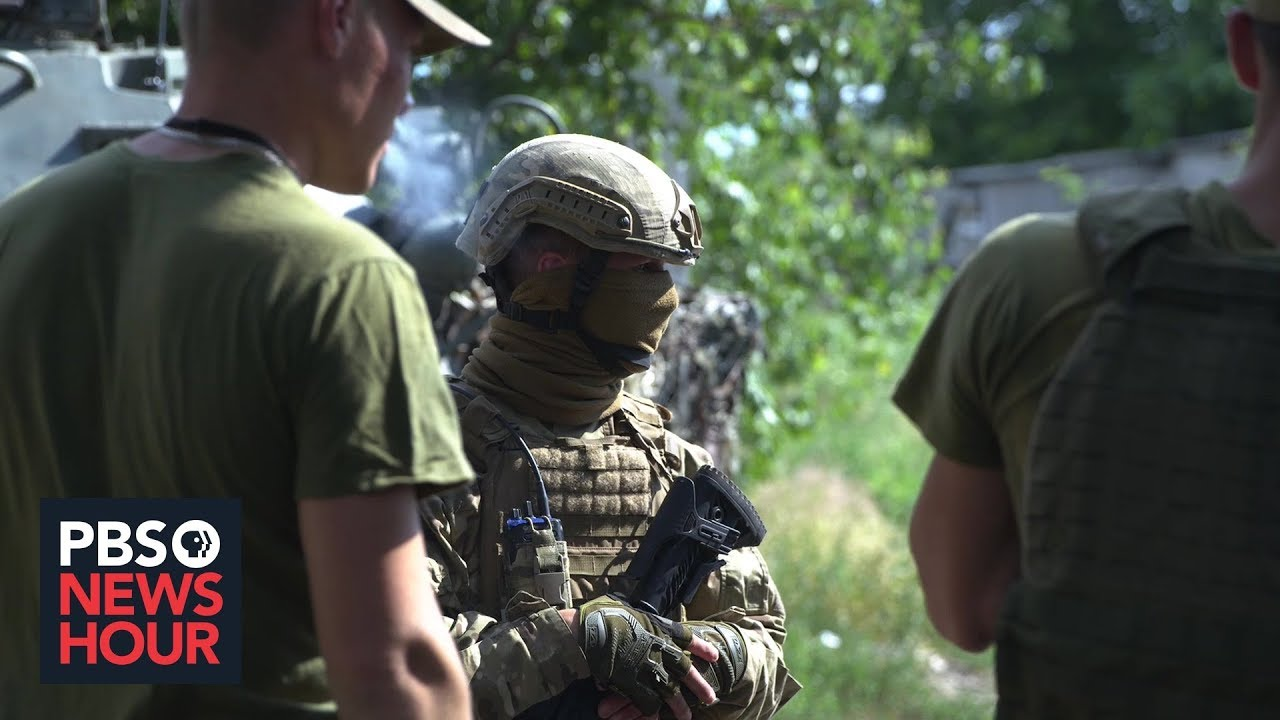 Why this American is on the Front Lines of Ukraine's long War