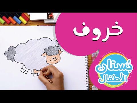 سلسلة رسمة ومعلومة - ح10: كيف أرسم خروف