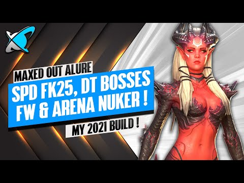 ALURE GEARED FOR MAXIMUM EFFICIENCY! | Masteries & Guide | My 2021 Build | RAID: Shadow Legends