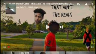 Young Monte Carlo-That Ain't The Reals (Pontiac Made DDG DISS)