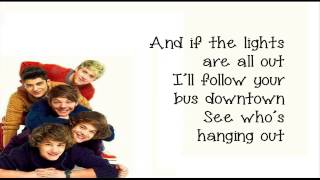 One Direction - One Way Or Another (Lyrics on Screen)