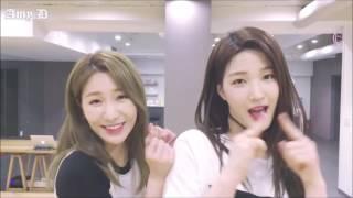 LABOUM 'Hwi Hwi' Mirrored Dance Practice Eye Contact