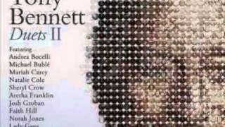 """""""DUETS II"""" TONY BENNETT & QUEEN LATIFAH """"WHO CAN I TURN TO"""" arranged by JORGE CALANDRELLI"""