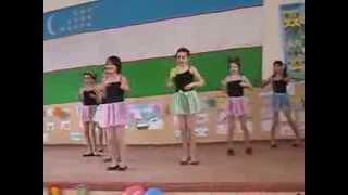 T-ara - Roly Poly dance cover by children(Uzbekistan)
