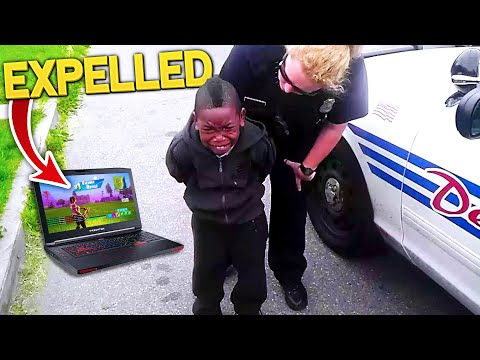Download Video Kid Gets Expelled After Playing Fortnite In School.. (MUST WATCH!)