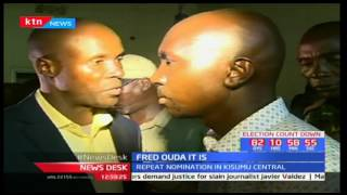 Fred Ouda wins ODM repeat nominations in the Kisumu Central MP polls