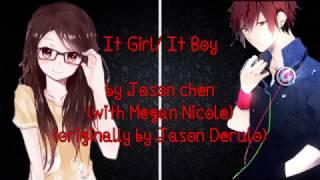 It girl it boy by Jason Chen - Nightcore (Switching Vocals)