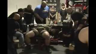 1010 lb World Record Bench Press - Gene Rychlak Jr Official Video