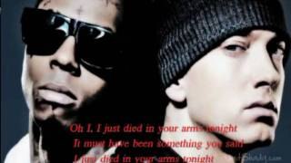 New 2012 _ Eminem - Died In Your Arms - Ft Lil Wayne - Lyrics