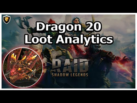 RAID Shadow Legends | Dragon 20 Loot Analytics