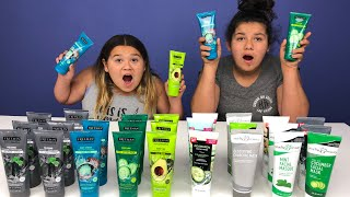 Don't Choose the Wrong Face Mask Slime Challenge