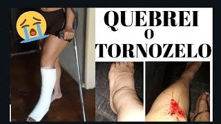 QUEBREI O TORNOZELO/LEINHA SANTOS